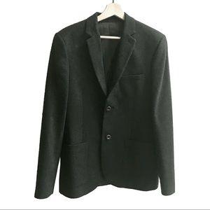 Topman Wool Blazer in Dark Green Sz 38 Men's 🕶💼